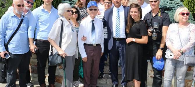 Izraelio ambasadoriaus ir M. Bokšickio artimųjų vizitas Alytuje