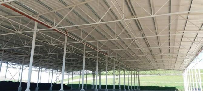 Didžiausia regiono kompostavimo aikštelė – jau saugioje stoginėje