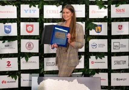Konkurse pasižymėjo jaunoji architektė alytiškė Austėja Jurčiukonytė