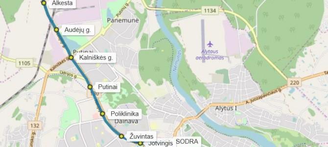 Nuo rugsėjo 1 d. Alytuje įsigalioja viešojo transporto maršrutų tvarkaraščių pakeitimai