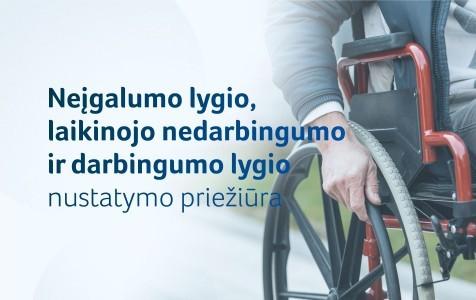 Naujas antikorupcinis instrumentas, kuris leis įvertinti, ar teisingai nustatytas neįgalumas ir darbingumo lygis