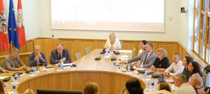 Nauja regiono plėtros tarybos sudėtis