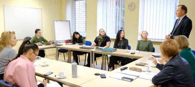 Regioninio karjeros centro valdybos posėdis