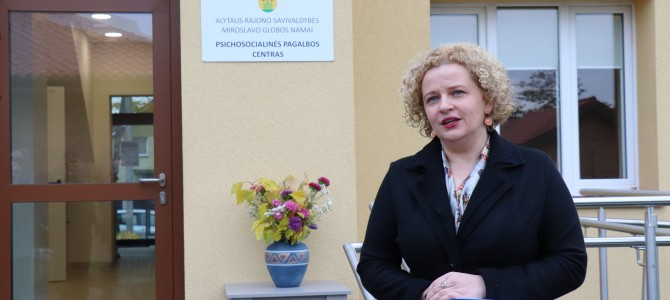 Atidarytas Alytaus rajono psichosocialinės pagalbos centras