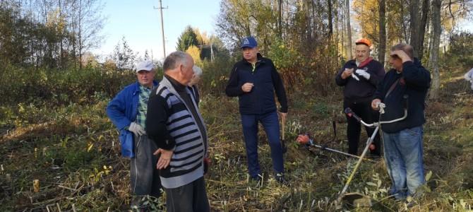 Kaimo bendruomenė nori turėti poilsio vietą ir pagerinti patalpas