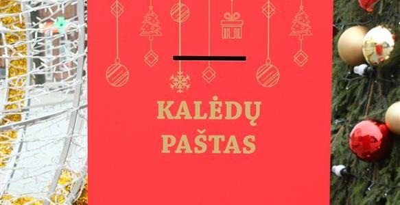 Kalėdinis paštas: Rašykite šventinius linkėjimus ir laimėkite puikius prizus!