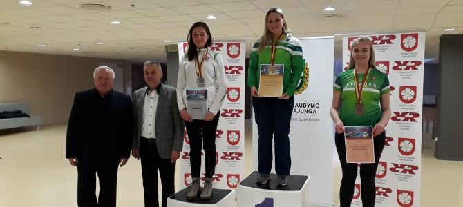 Alytiškių startai Lietuvos kulkinio šaudymo pneumatiniais ginklais čempionate