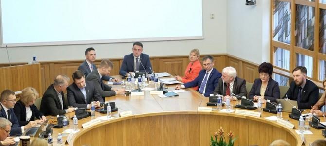 Miesto taryboje pasikeitė politinė konfigūracija