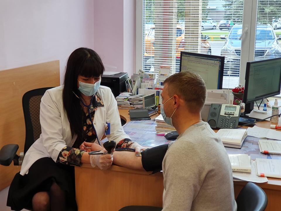 Alytaus rajono PSPC gydytojai jau atlieka profilaktinį sveikatos patikrinimą