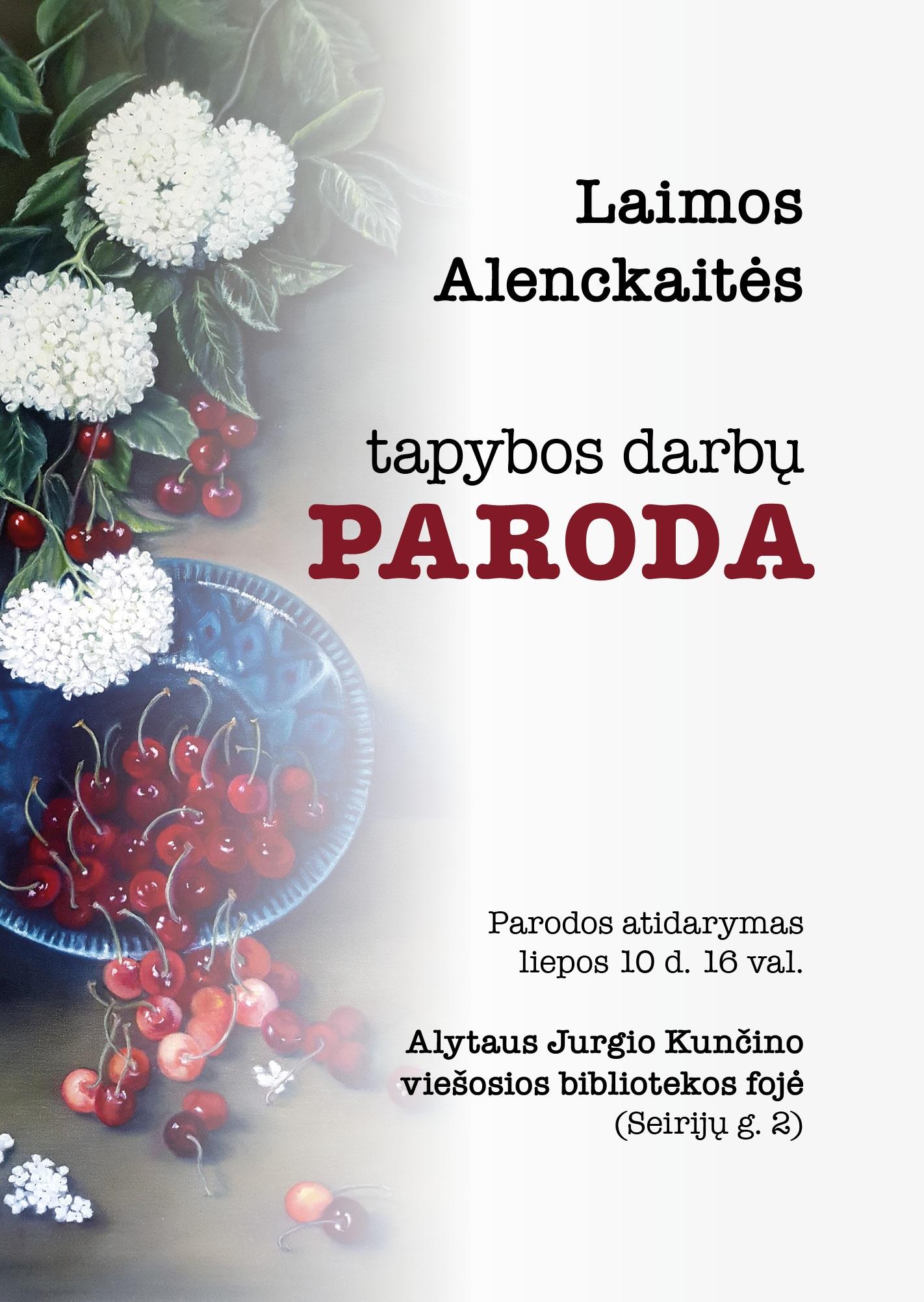 laima_alenckaite_paroda_plakatas