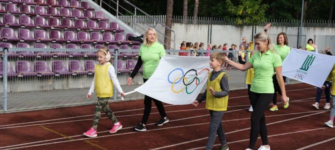"""Mažųjų """"Olimpinė diena"""""""