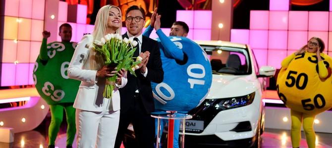 """Gimtadienio ir vestuvių metinių proga """"Teleloto"""" laimėjo """"Nissan Qashqai"""" visureigį"""