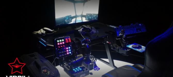Alytuje bus gaminamos lėktuvų simuliatorių vairalazdės