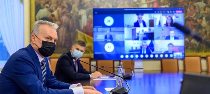 Prezidentas kviečia Alytaus regioną siekti žaliosios transformacijos