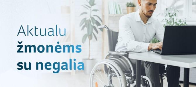 Viskas vienoje vietoje – parama neįgaliesiems