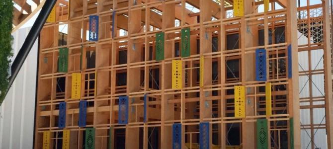 Dubajuje jau pastatytas Lietuvos paviljonas
