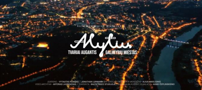 Alytiškių ir miesto svečių dėmesiui – naujas Alytų pristatantis filmas