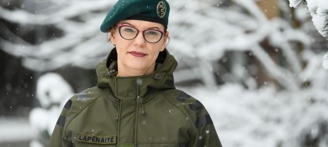 Karo psichologė Danutė Lapėnaitė padeda ne tik kariškiams, bet ir jų vaikams