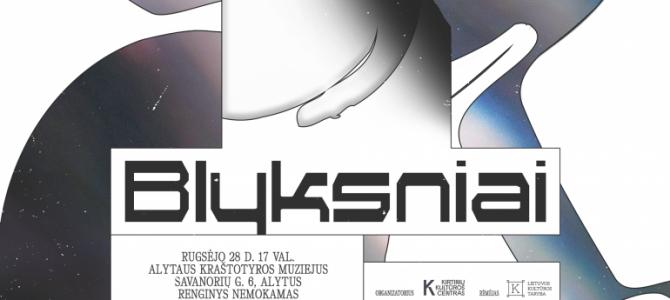 """Videomeno, eksperimentinio ir dokumentinio kino renginių serija """"Blyksniai"""" atvyskta į Alytų"""