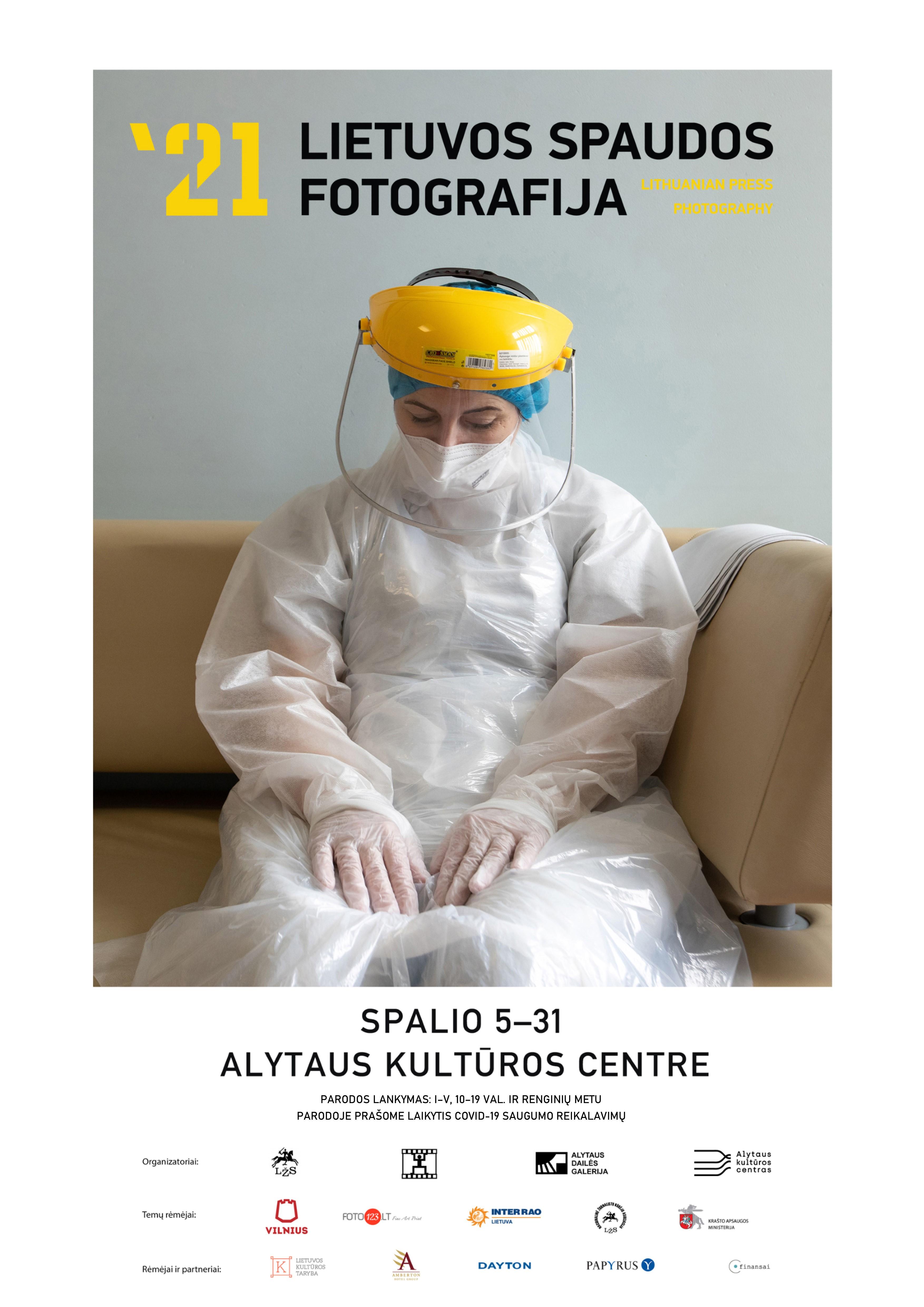 Lietuvos spaudos fotografija 2021 Plakatas